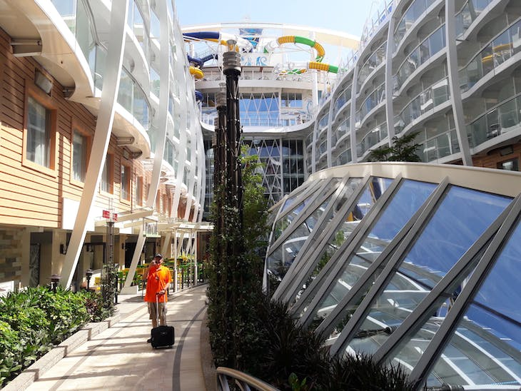 Embarkation Day  Central Park - Symphony of the Seas