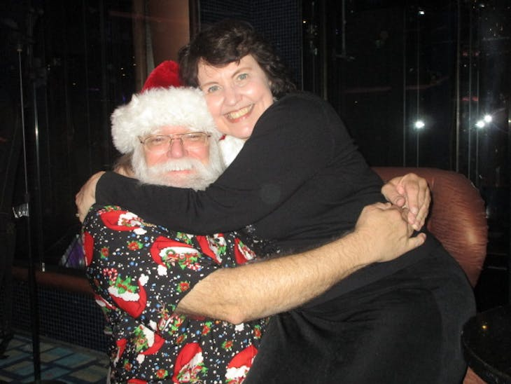 Santa with Guest - Carnival Conquest