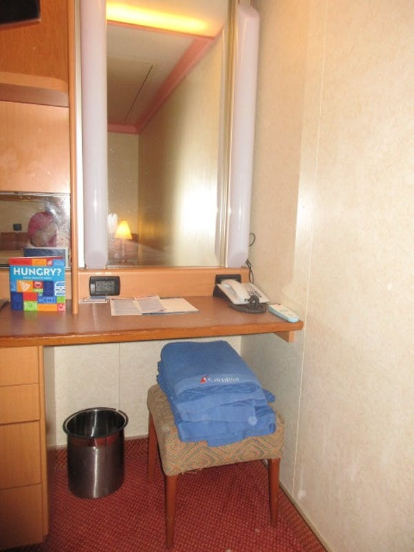 Vanity Area - Carnival Conquest
