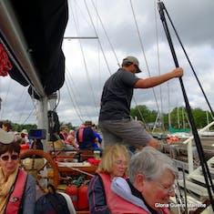Sydney, Nova Scotia - Amoeba schooner