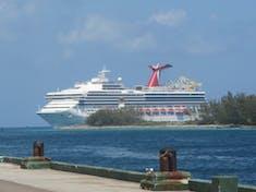 Carnival Sunshine sailing into port