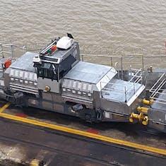 Panama Canal Transit - A Mule