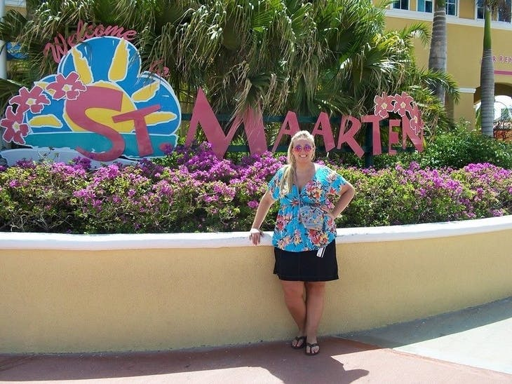 Philipsburg, St. Maarten - ST Maarten Sign