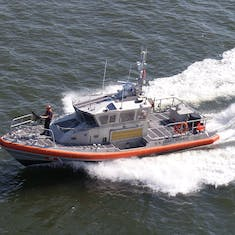 Escort out of Galveston - Semper Paratus