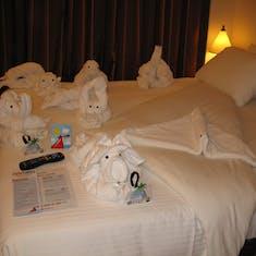 Towel animal zoo and VIFP gift!