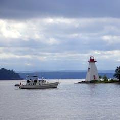 Sydney, Nova Scotia - Lighthouse - Sydney Nova Scotia