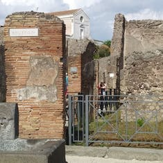 Excusion to Pompeii
