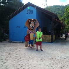Labadee (Cruise Line Private Island) - Hanging with Alex