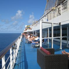 Deck 11 walk way