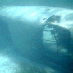 Cococay (Cruise Line's Private Island) - Sunken plane