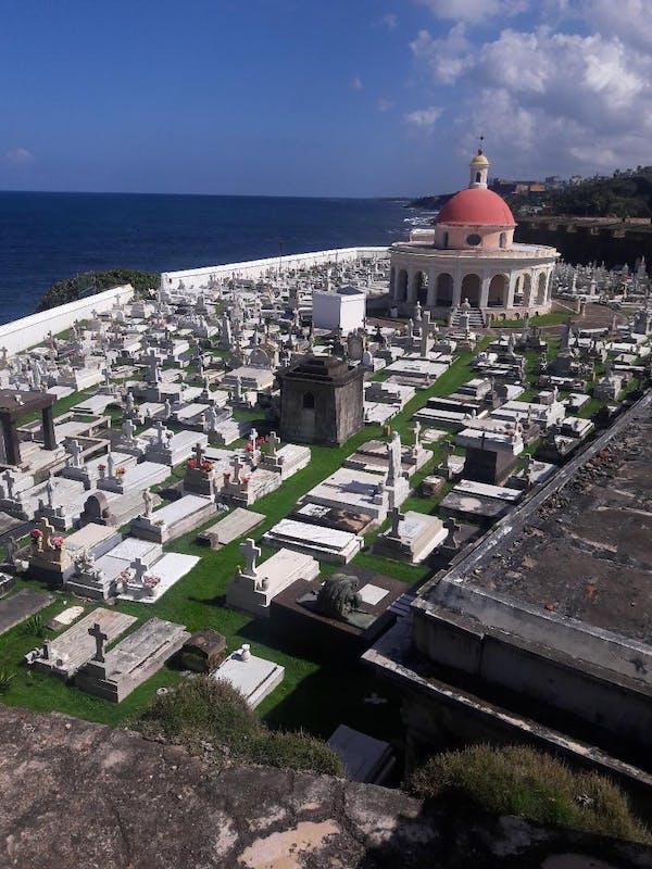 San Juan, Puerto Rico - Cemetery near El Morrow
