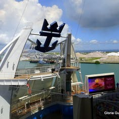 Port Canaveral, Florida - View from Aqua Theater Suite