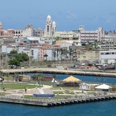 San Juan, Puerto Rico - San Juan as seen from our ship