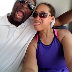 Nassau, Bahamas - Returning from the ATV Excursion on the bus