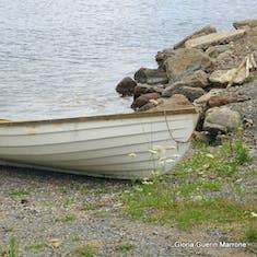 Sydney, Nova Scotia - Row3 boat