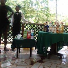 Falmouth, Jamaica - Rum tasting at Reggae River