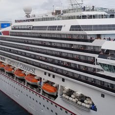 Carnival Conquest alongside Carnival Magic