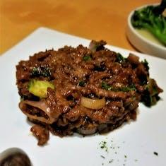 Mongolian Beef, iirc.