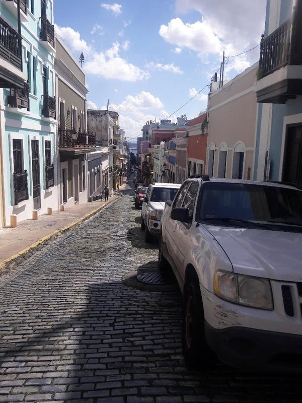 San Juan, Puerto Rico - Old Town Street