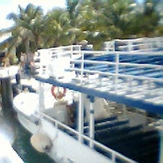 Cococay (Cruise Line's Private Island) - The old way of getting to Coco Cay