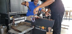 Hot Glass Class: Creating the stem