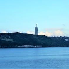 Sailing into Lisbon.