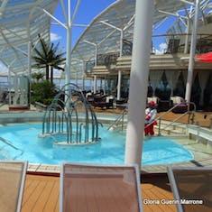 Port Canaveral, Florida - Solarium Pool