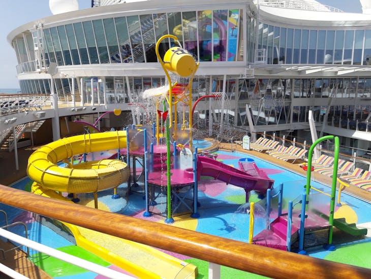 Splash pad area - Symphony of the Seas