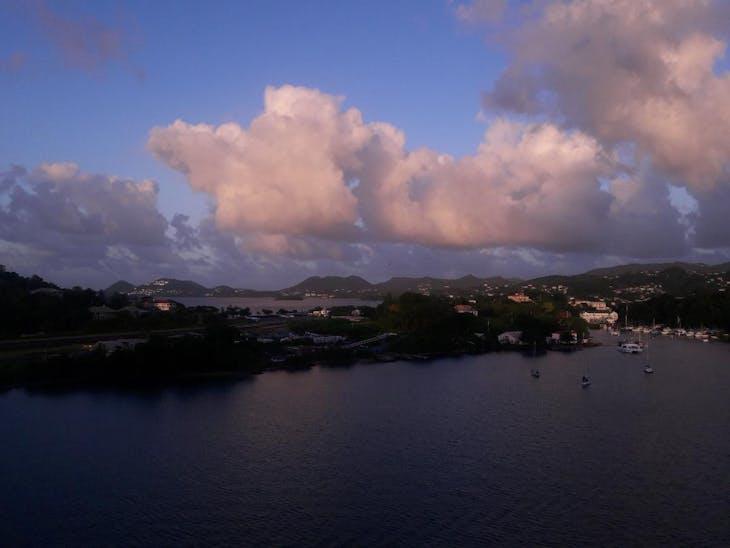 Bridgetown, Barbados - Entering harbor