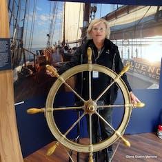 Sydney, Nova Scotia - Ship wheel