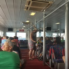 Ferry ride to St. Georges
