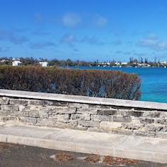 Bus ride to Hamilton Bermuda