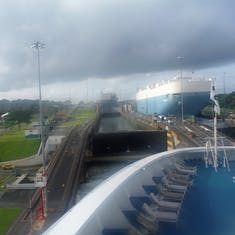 Going through one of the Locks