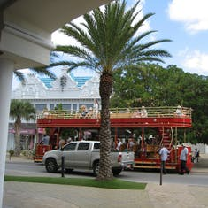 A fun way to travel in Aruba.