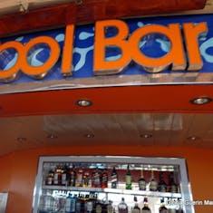 Port Canaveral, Florida - Pool Bar