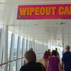Port Canaveral, Florida - Wipeout Cafe Sign