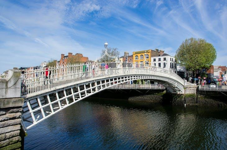 Dublin, Ireland - Ha'penny Bridge