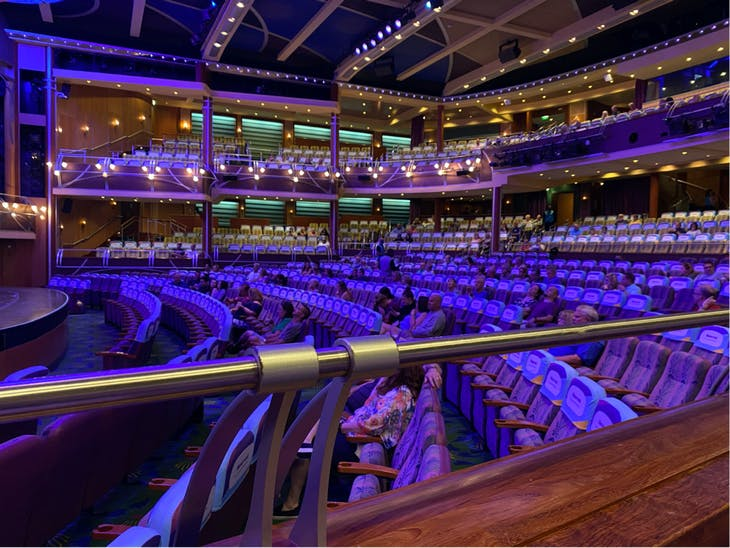 Social Distancing Showtime  - Adventure of the Seas