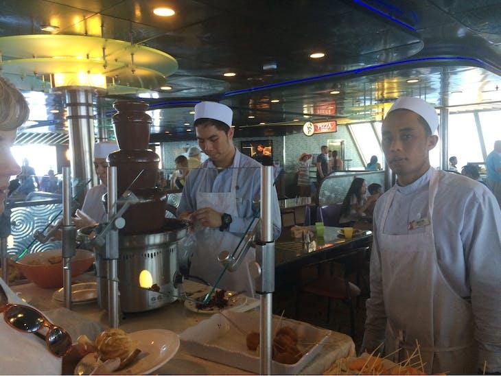 Carnival Sensation, Dining, Grand Buffet