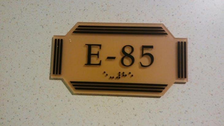 Carnival Ecstasy cabin E85