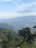 View over Antigua, Guatemala from our lunch location