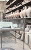 Cast of Pompeii citizen buried in volcanic ash 79 AD