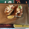 Lobster roll sliders.  Appetizer at the American Bistro.