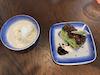 Cake and vanilla soft serve