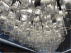 Lights at elevator bay