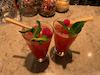 Raspberry Guava Mojitos