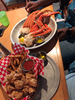 1Pound Snow crab Legs and The Fried Shrimp Basket