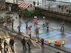 Yosakoi Dance demonstration send off.