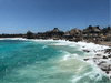 rough surf in Costa Maya