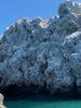 Catamaran Ride- Snow Covered island